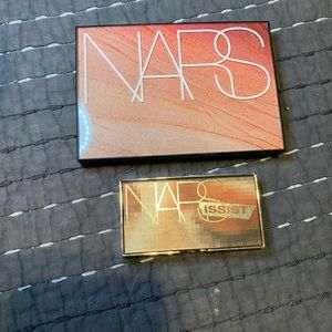 NARS Hot night's palette and mini wanted palette